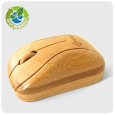 Беспроводная бамбуковая мышь WMC781