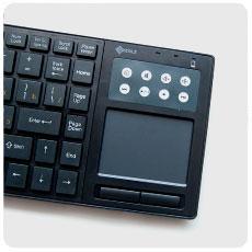 Клавиатура беспроводная с тачпадом WKM31
